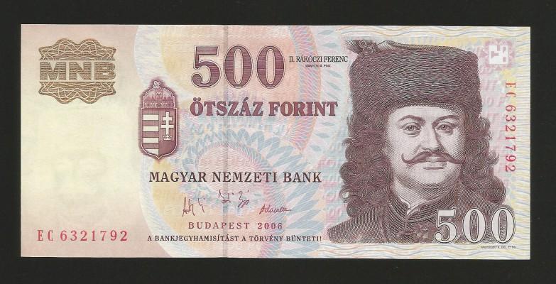 500 2006ec forr unc