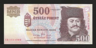 500 2007 eb unc