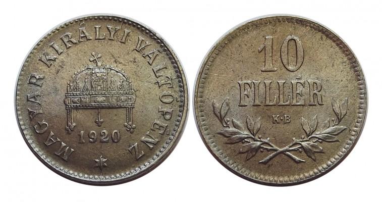 10fillér1920vas