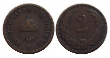 2fillér1898