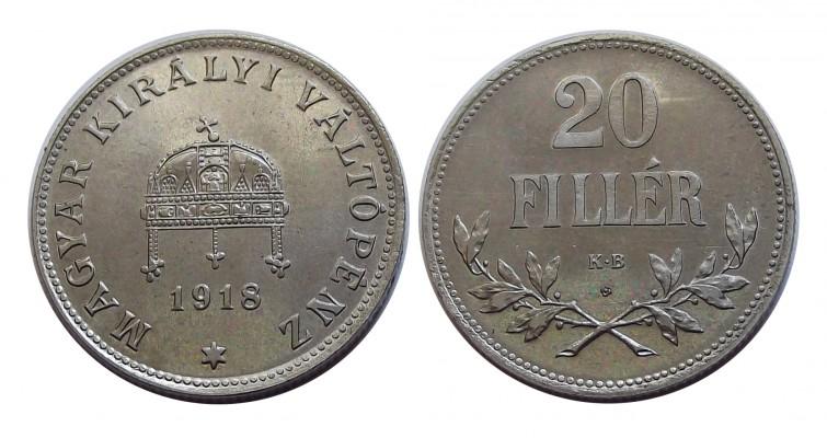 rozetta20fillér1918