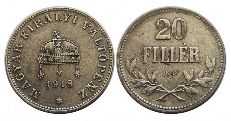 20fillér1918