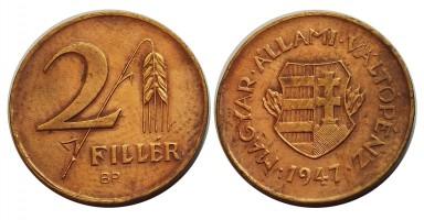 2fillér1947