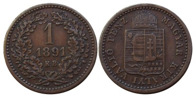 1krajcár1891