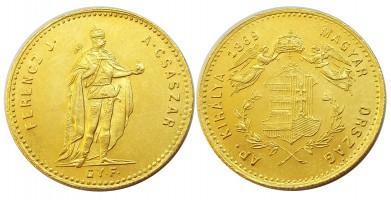 dukát1869gyf