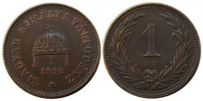 1fillér 1892 22