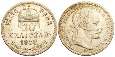 10krajczár1888