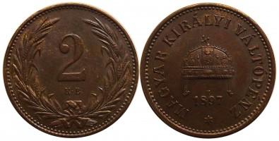 2fillér1897 b