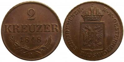 2kreuzer1848a b