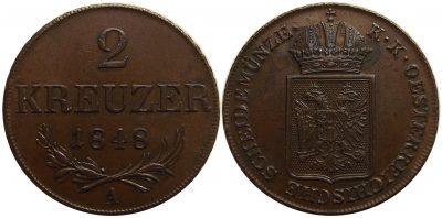 2kreuzer1848a