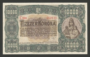 10000korona1923aunc1