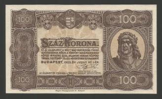 100korona1923unc1