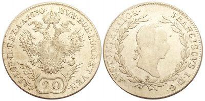 20kreuzer1830e