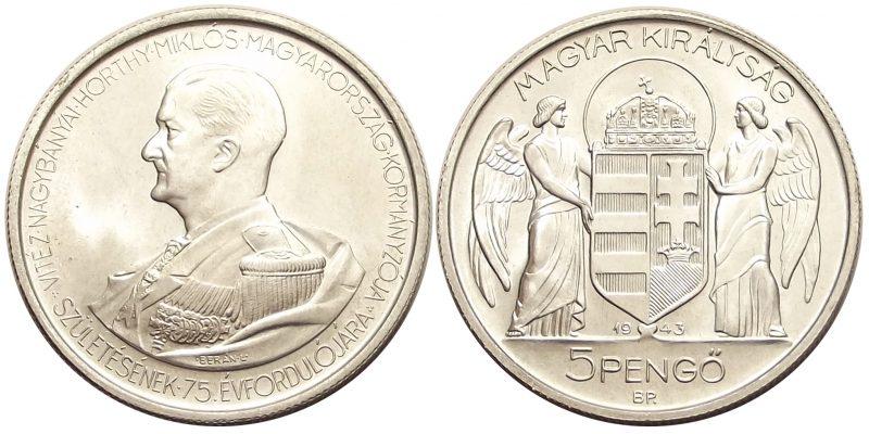5pengő1943unc1