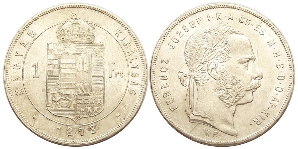 1 forint 1873 Ferenc József