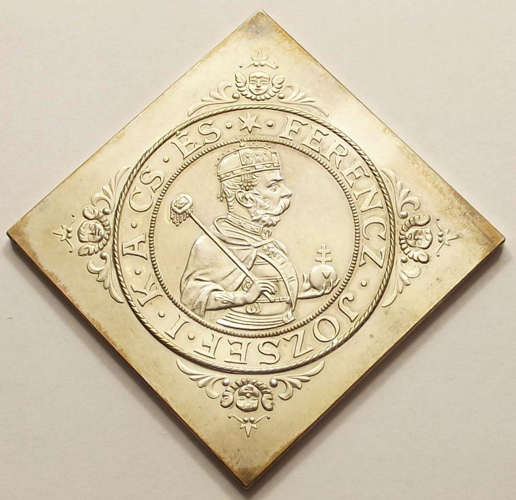 Millenniumi tallér 1896 UP csegely ARTEX