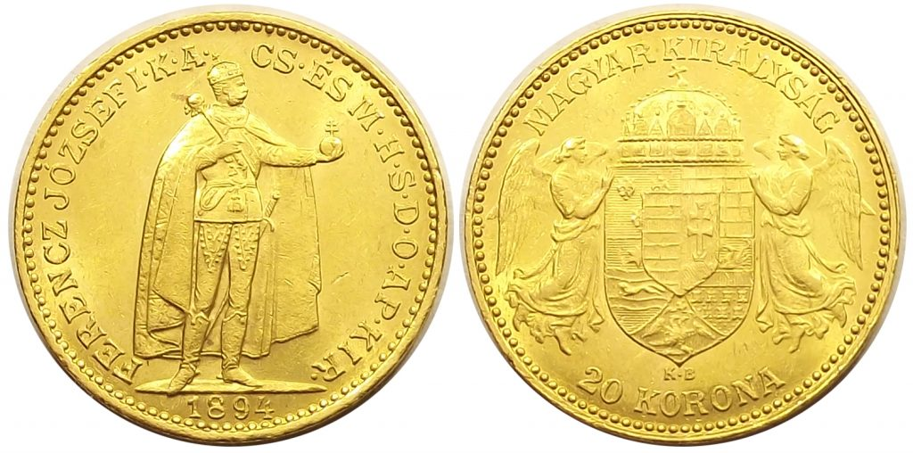 20 korona 1894 Ferenc József