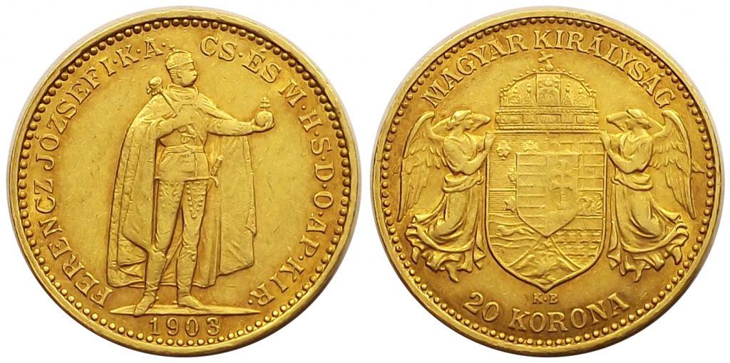 20 korona 1903 Ferenc József