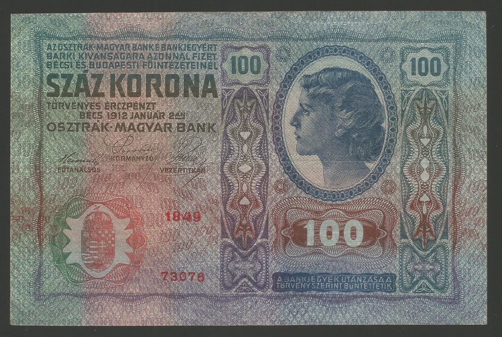 100 korona 1912