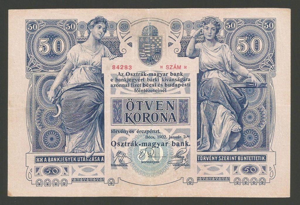 50 korona 1902