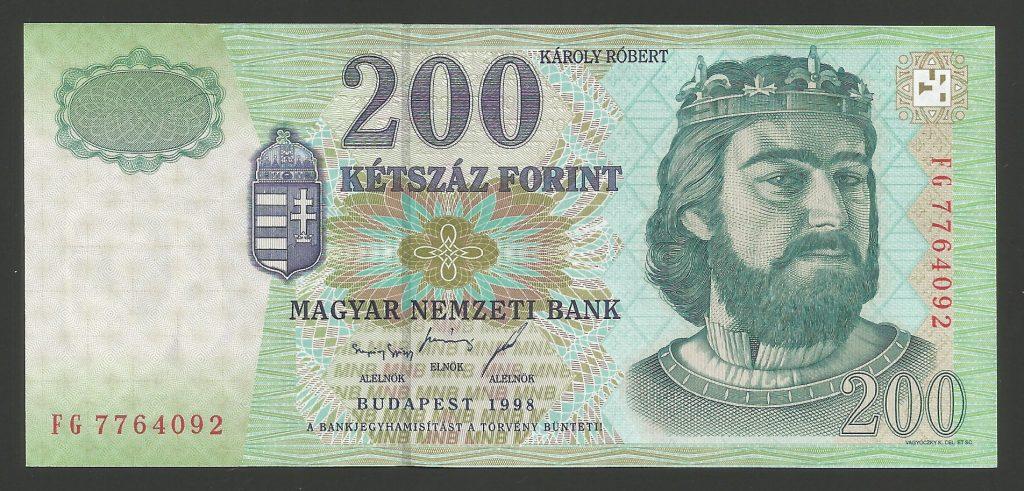200 forint 1998 FG