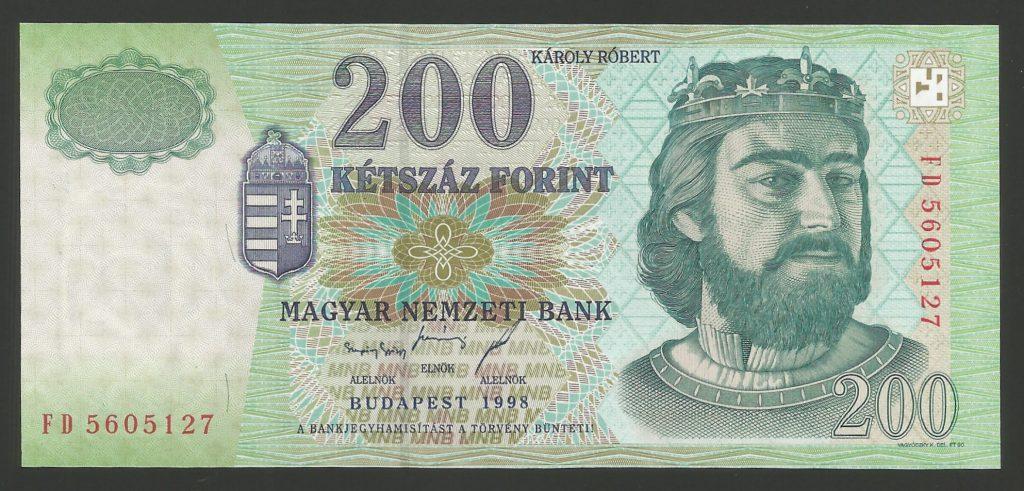 200 forint 1998 FD