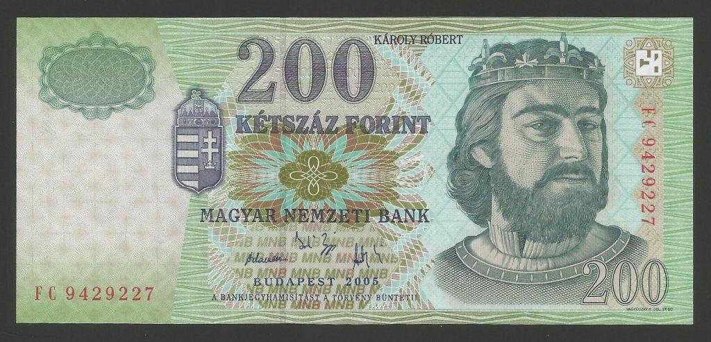 200 forint 2005 FC