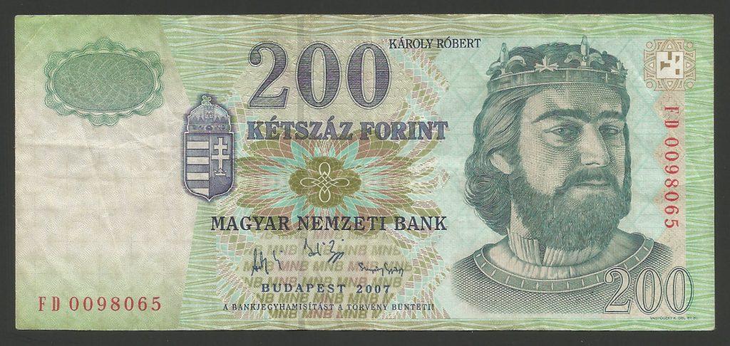 200 forint 2007 FD