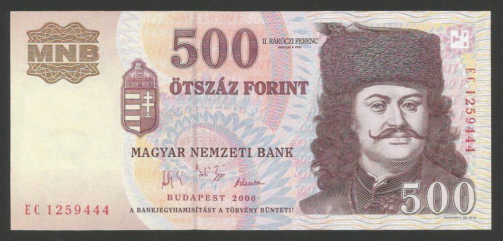 500 forint 2006 EC Forradalom