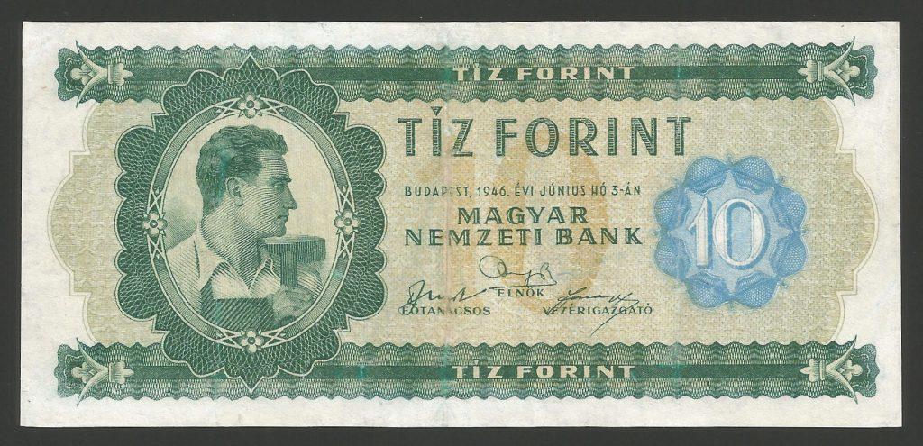 10 forint 1946